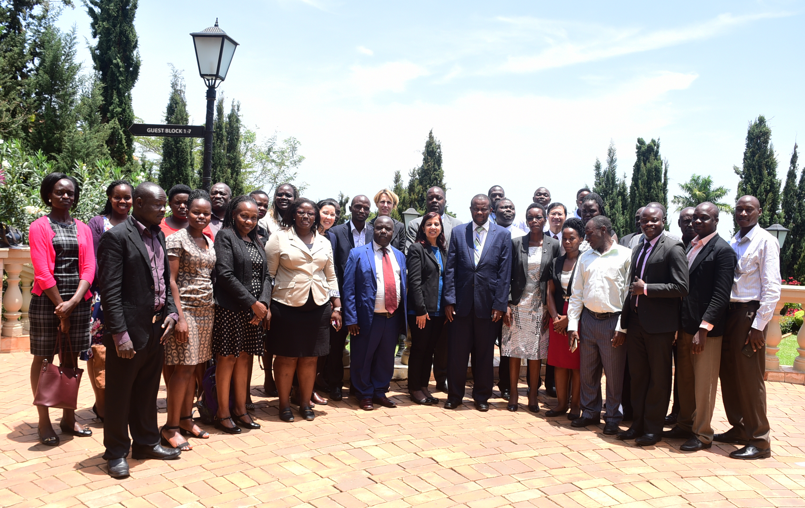 Uganda Workshop Group Photo
