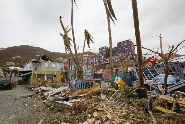 Dominica after Hurricane Irma